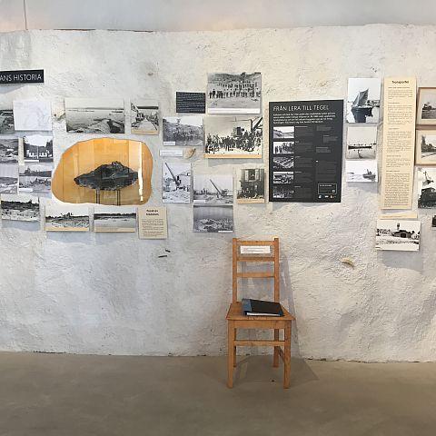 Iföverkens Industrimuseum utställning Gruvans historia