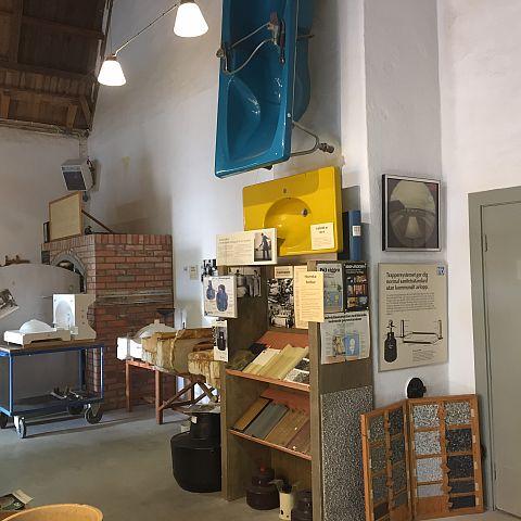 Iföverkens Industrimuseum utställning Plasttillverkning